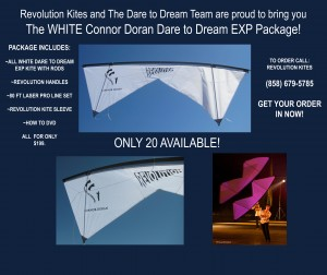 Connor Doran, Dare to Dream Kite Package